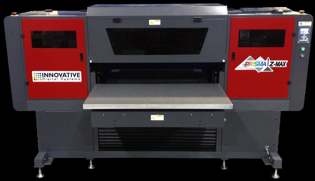 UV flatbed printer big on capability