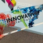 Fast UV Printer for Acrylic Wards and Plaques