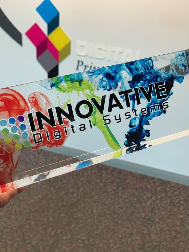 Fast UV Plaque Printing and Acrylic Awards