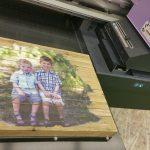 Wood printer for Plaques, Cornhole, Coasters