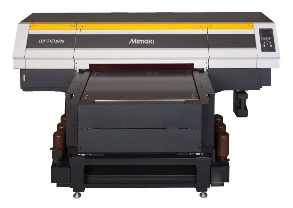 mimaki ujf-7151 uv printer