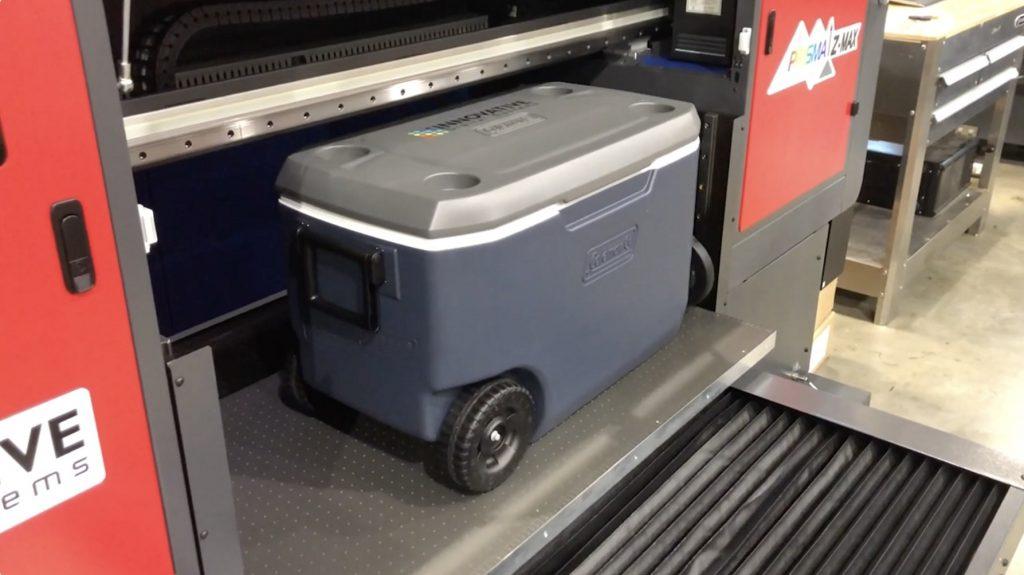 Big UV printer for Coolers
