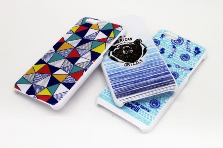 Mimaki UV printer for phone cases and tablet cases