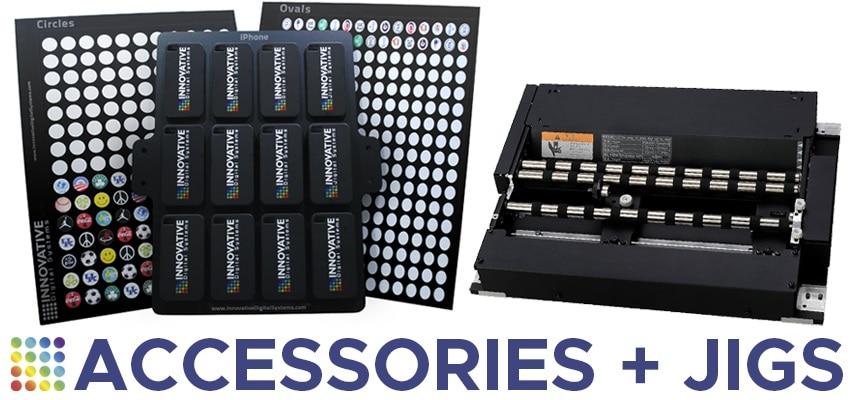 UV printer jigs and fixtures