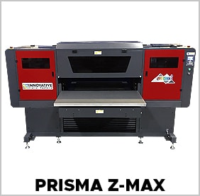 PRISMA UV flatbed printer with max height clearance
